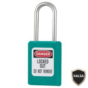 Master Lock S33MKTEAL Master Keyed Zenex Snap Lock Safety Padlock