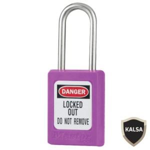Master Lock S33PRP Keyed Different Zenex Snap Lock Safety Padlock