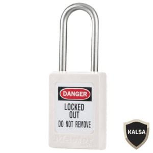 Master Lock S33WHT Keyed Different Zenex Snap Lock Safety Padlock