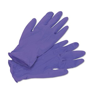 Kimberly Clark 5060301 Size M KC Purple Nitrile Extra Exam Gloves
