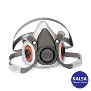 Respirator 6300 3M Size L Half Reusable Respiratory Protection