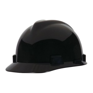 MSA Fastrack V-Gard Caps Black Head Protection