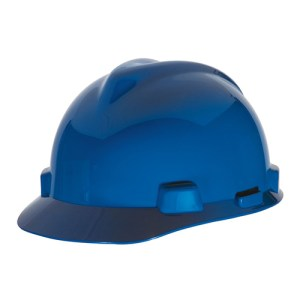 MSA Fastrack V-Gard Caps Blue Head Protection