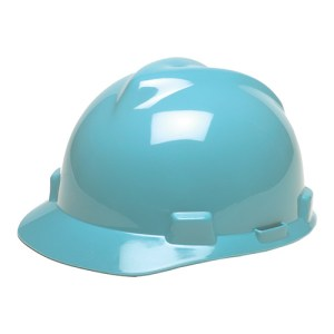 MSA Fastrack V-Gard Caps Light Blue Head Protection