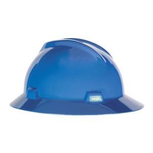 MSA Fastrack V-Gard Hats Blue Head Protection