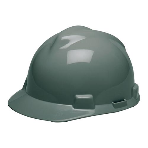 MSA Staz On V-Gard Caps Gray