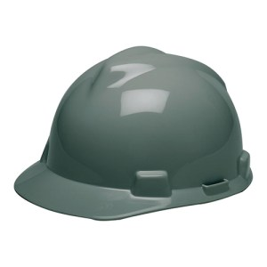MSA Staz On V-Gard Caps Gray Head Protection