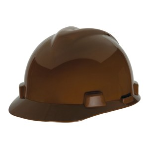 MSA Staz On V-Gard Caps Light Brown Head Protection