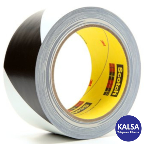 Distributor Industrial Tape Black White 5700 Safety Stripe, Jual Industrial Tape Black White 5700 Safety Stripe