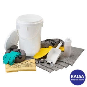 Brady SKA-BKTBASE Chemical Allwik Base Neutralizing Spill Kit