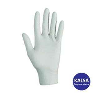 Kimberly Clark 38525 G10 Size M Kleenguard Flex White Nitrile Glove