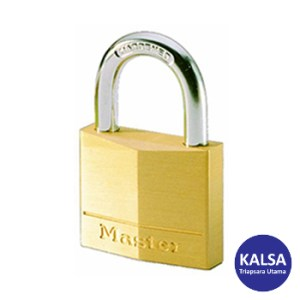 Master Lock 120EURT/120T Solid Brass Padlocks 20 mm Steel Shackle