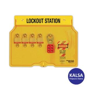 Master Lock 1482BP3 Padlock Stations