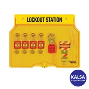 Master Lock 1482BP410 Padlock Stations