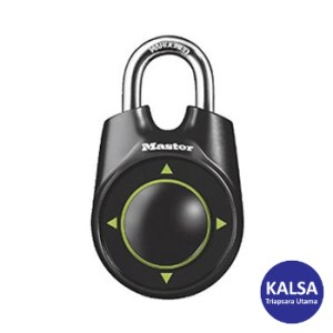 Master Lock 1500iEURDBLACK Combination Padlock