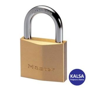 Master Lock 2930EURD Solid Brass Padlock Hardened Steel Shackle