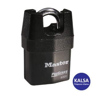 Master Lock 6321EURD Shrouded Shackle