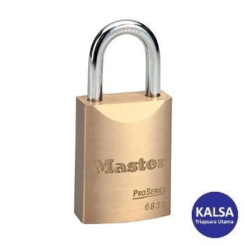 Distributor Master Lock 6830EURD Pro Series Brass Padlock, Jual Master Lock 6830EURD Pro Series Brass Padlock