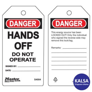 Master Lock S4004 Guardian Extreme Safety Tags