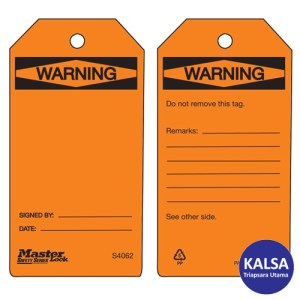 Master Lock S4062 Guardian Extreme Safety Tags