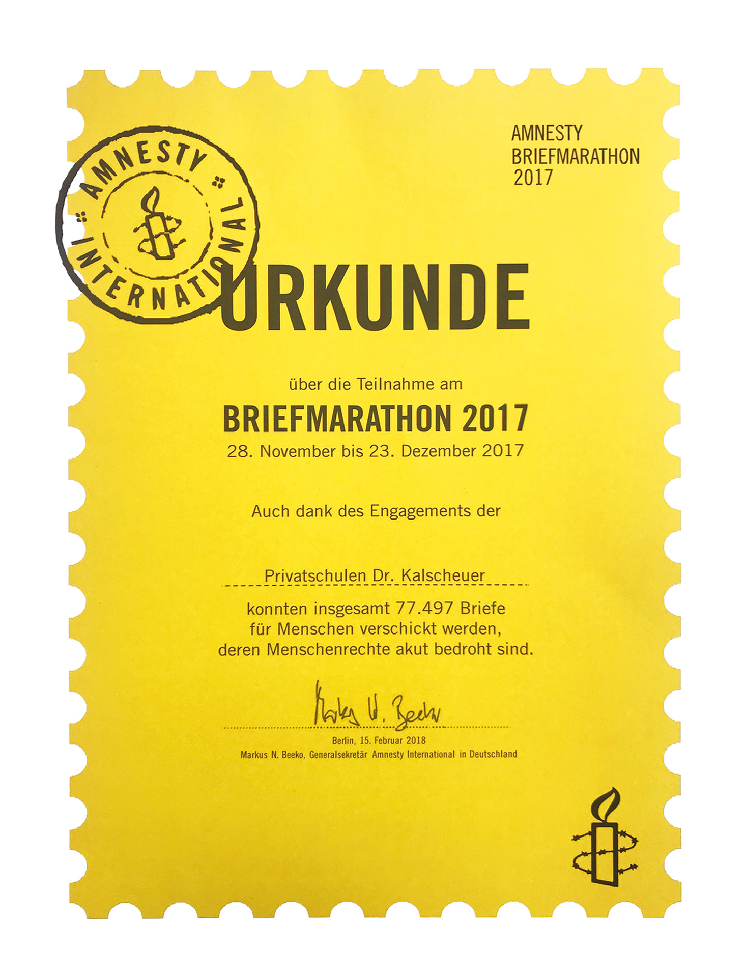 Briefmarathon_Urkunde