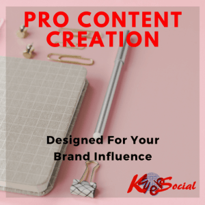 K-Web Social Content Creation & Marketing