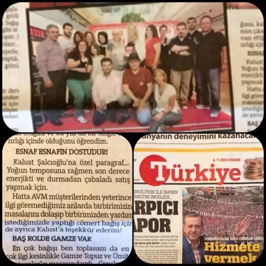 6 Temmuz 2014 - Türkiye Gazetesi