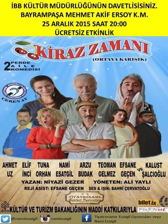 Tiyatro - 25 Aralık 2015 - Bayrampaşa Mehmet Akif Ersoy Kültür Merkezi