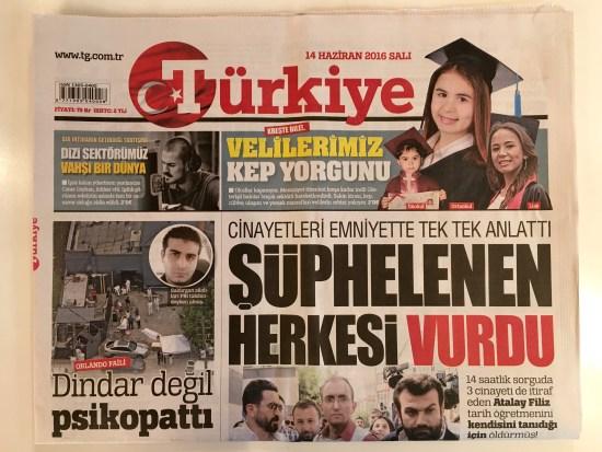 14.06.2016 - Türkiye Gazetesi 01