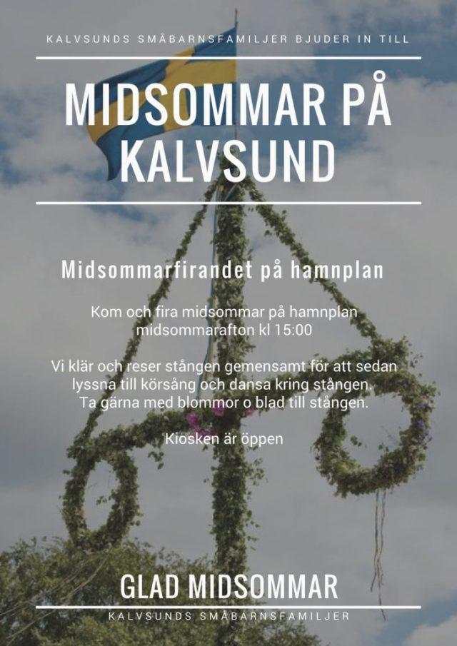 Midsommar på Kalvsund