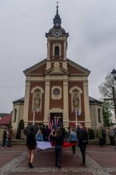Uroczystości 228. rocznicy uchwalenia Konstytucji 3 Maja w Kalwarii Zebrzydowskiej - 3 maja 2019 r. fot. Andrzej Famielec, Kalwaria 24 IMGP7801