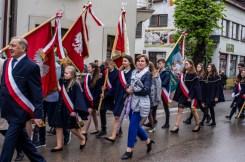Uroczystości 228. rocznicy uchwalenia Konstytucji 3 Maja w Kalwarii Zebrzydowskiej - 3 maja 2019 r. fot. Andrzej Famielec, Kalwaria 24 IMGP7825