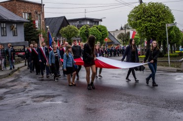 Uroczystości 228. rocznicy uchwalenia Konstytucji 3 Maja w Kalwarii Zebrzydowskiej - 3 maja 2019 r. fot. Andrzej Famielec, Kalwaria 24 IMGP7846