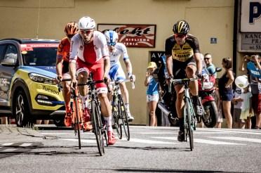 74. Tour de Pologne - I etap - Kalwaria Zebrzydowska 29.07.2017r. fot. Andrzej Famielec
