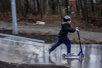 Otwarcie Skateparku w Kalwarii Zebrzydowskiej - 28 listopada 2019 r. - fot. Andrzej Famielec - Kalwaria 24 IMGP0440
