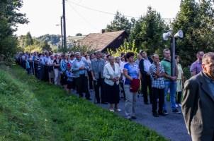 Coroczna Pielgrzymka na Kamionkę pod stary Krzyż Misyjny - Barwałd Dolny - 16.09.2018 r. - fot. Andrzej Famielec IMGP0699