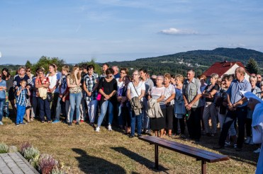 Coroczna Pielgrzymka na Kamionkę pod stary Krzyż Misyjny - Barwałd Dolny - 16.09.2018 r. - fot. Andrzej Famielec IMGP0726