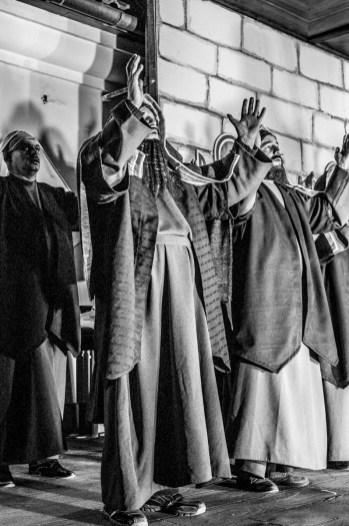 Misterium Męki Pańskiej w Kalwarii Zebrzydowskiej 2019 - Wielka Środa - Uczta u Szymona i Zdrada Judasza - 17 kwietnia 2019 r. fot. Andrzej Famielec, Kalwaria 24 IMGP5882