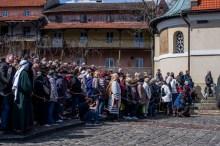 Misterium Męki Pańskiej w Kalwarii Zebrzydowskiej 2019 - Wielka Czwartek - 17 kwietnia 2019 r. fot. Andrzej Famielec, Kalwaria 24 IMGP6347