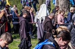 Misterium Męki Pańskiej w Kalwarii Zebrzydowskiej 2019 - Wielka Czwartek - 17 kwietnia 2019 r. fot. Andrzej Famielec, Kalwaria 24 IMGP6432