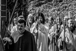 Misterium Męki Pańskiej w Kalwarii Zebrzydowskiej 2019 - Wielka Czwartek - 17 kwietnia 2019 r. fot. Andrzej Famielec, Kalwaria 24 IMGP6545