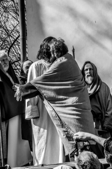 Misterium Męki Pańskiej w Kalwarii Zebrzydowskiej 2019 - Wielka Czwartek - 17 kwietnia 2019 r. fot. Andrzej Famielec, Kalwaria 24 IMGP6553