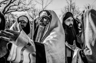 Misterium Męki Pańskiej w Kalwarii Zebrzydowskiej 2019 -Wielki Piątek - 19 kwietnia 2019 r. fot. Andrzej Famielec, Kalwaria 24 IMGP7023
