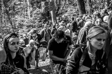 Misterium Męki Pańskiej w Kalwarii Zebrzydowskiej 2019 -Wielki Piątek - 19 kwietnia 2019 r. fot. Andrzej Famielec, Kalwaria 24 IMGP7353