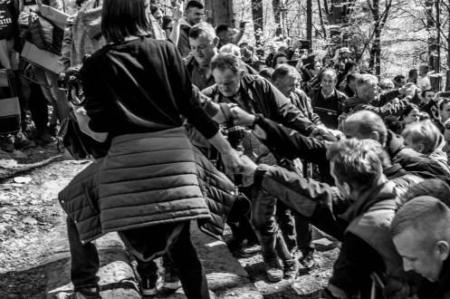 Misterium Męki Pańskiej w Kalwarii Zebrzydowskiej 2019 -Wielki Piątek - 19 kwietnia 2019 r. fot. Andrzej Famielec, Kalwaria 24 IMGP7368