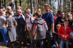 Misterium Męki Pańskiej w Kalwarii Zebrzydowskiej 2019 -Wielki Piątek - 19 kwietnia 2019 r. fot. Andrzej Famielec, Kalwaria 24 IMGP7392