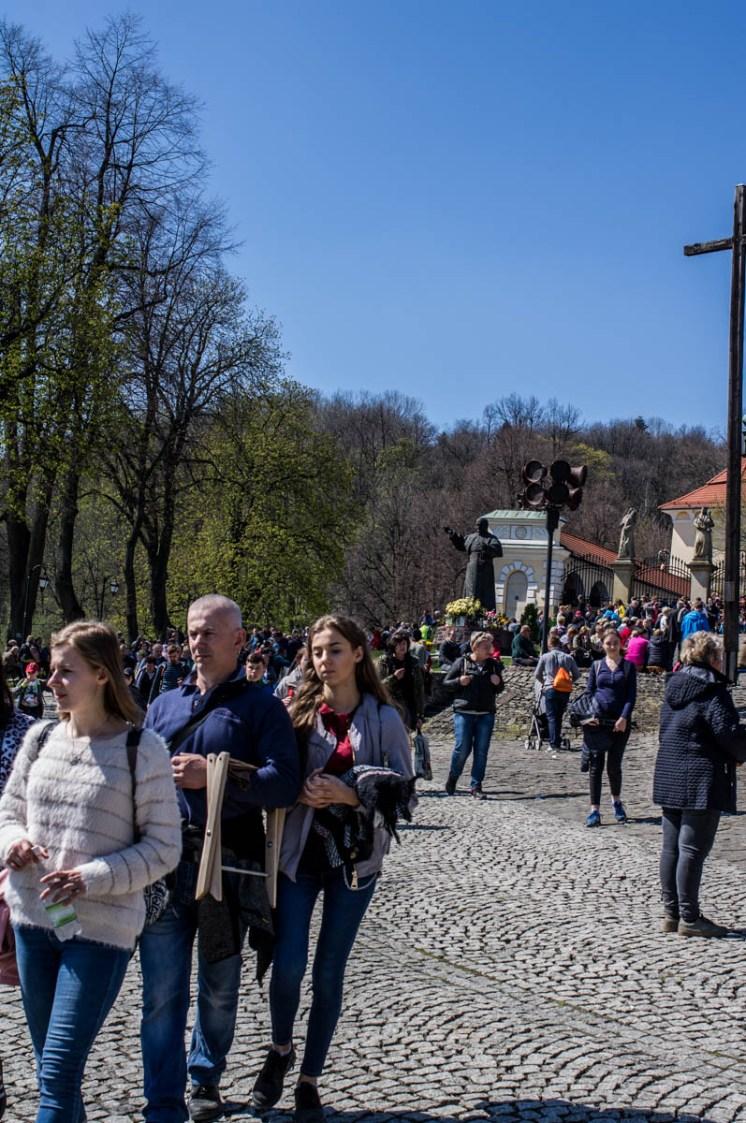 Misterium Męki Pańskiej w Kalwarii Zebrzydowskiej 2019 -Wielki Piątek - 19 kwietnia 2019 r. fot. Andrzej Famielec, Kalwaria 24 IMGP7411