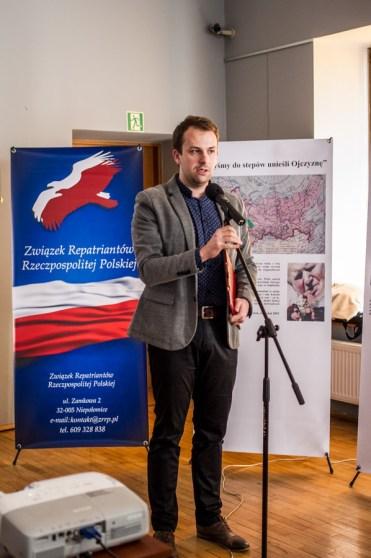Wystawa -Myśmy do stepów unieśli Ojczyznę- - 2 kwietnia 2019 r. Kalwaria Zebrzydowska - fot. Andrzej Famielec