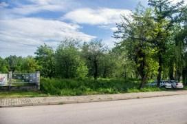 W tym miejscu ma powstać Środowiskowy Dom Samopomocy w Kalwarii Zebrzydowskiej - fot. Kalwaria 24