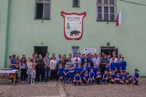 Oficjalnego otwarcia nowej infrastruktury rekreacyjnej w budynku klubowym WKS Żarek w Barwałdzie Górnym - 27 maja 2019 r. - fot. Andrzej Famielec IMGP8435_